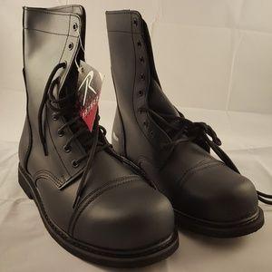 ff5e6416e46 Rothco 5092 Leather Combat Boots w/ Steel Toe NWT